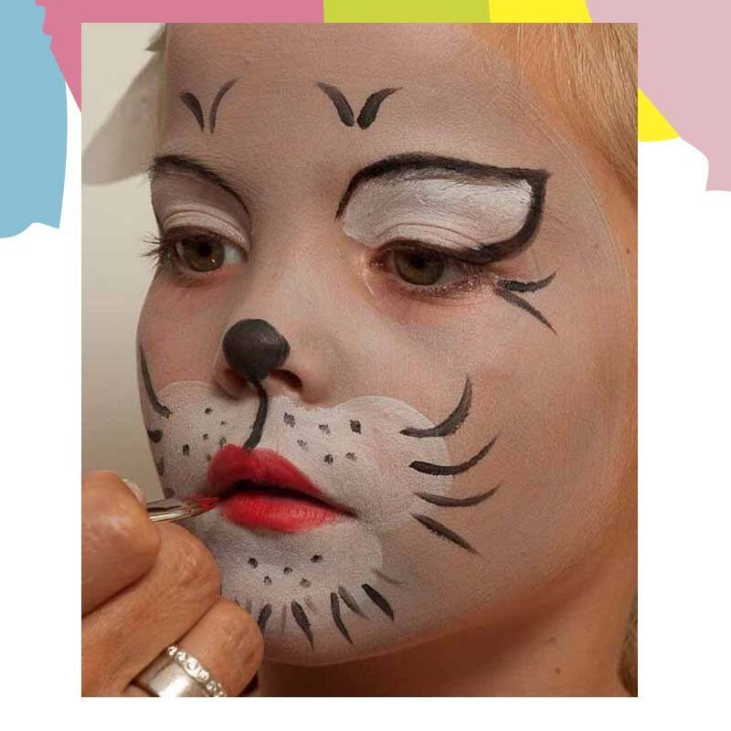 cat face painting 2