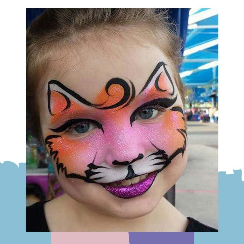 cat face paint 1